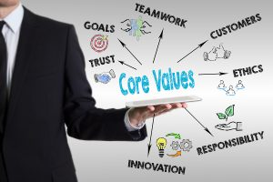Core Values are the foundation for everything