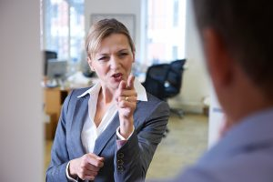 Aggressive bosses make for poor corporate culture