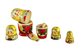Russian Nesting Dolls are a good example of the questions we deal with on employee engagement and personal lives