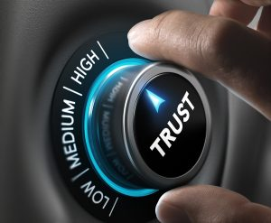 turning up the dial on trust